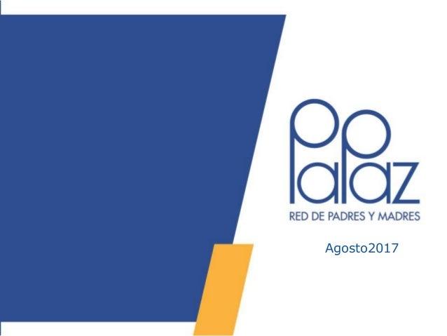 PaPaz Somos Todos Enero 2015 - Presentación Institucional