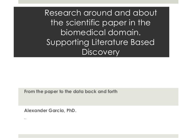 Paper as a Research Object