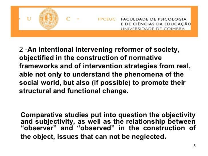 Comparative research paper