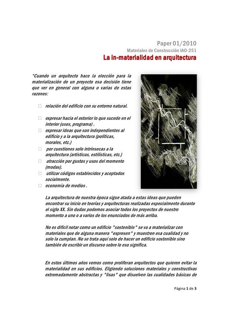 Paper 01/2010                                                                        01                                   ...