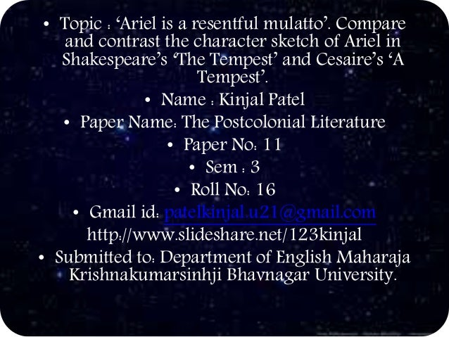 a comparison of prospero and shakespeare An online resource for information on william shakespeare  the stately magician, prospero  whose figure acquires a classical dignity in the comparison .