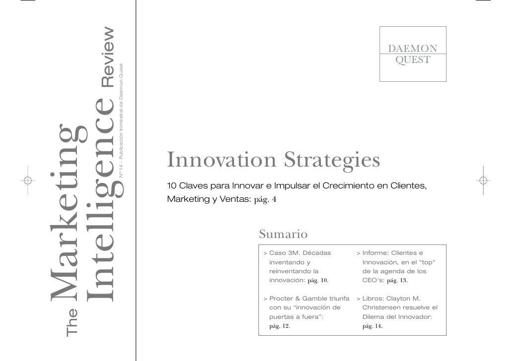 Intelligence Review                 Nº 14 - Publicación trimestral de Daemon QuestMarketing                               ...
