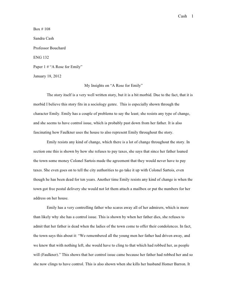 Title Pages For Essays Format