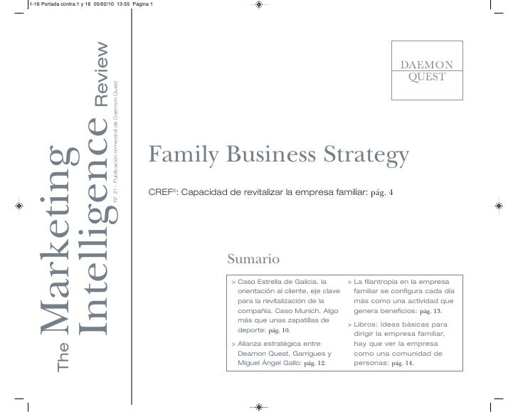 Family Business Strategy