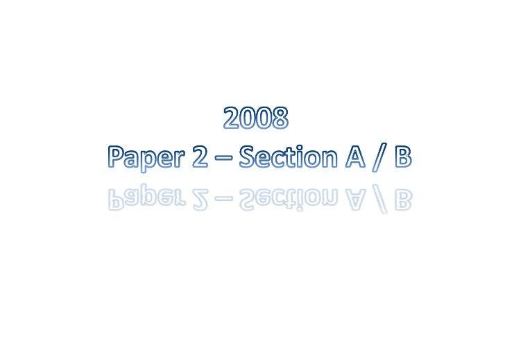 Paper 2 2008 2009 21 08