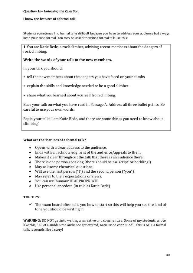 Example Essays