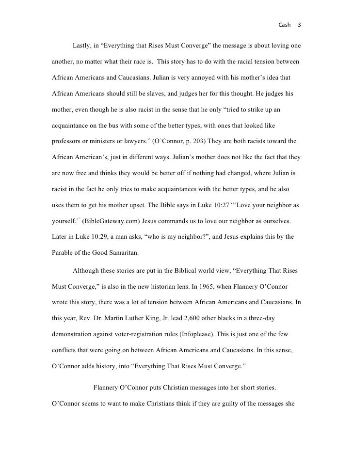 essay questions for everything that rises must converge Category: essays research papers title: everything that rises must converge study guide.