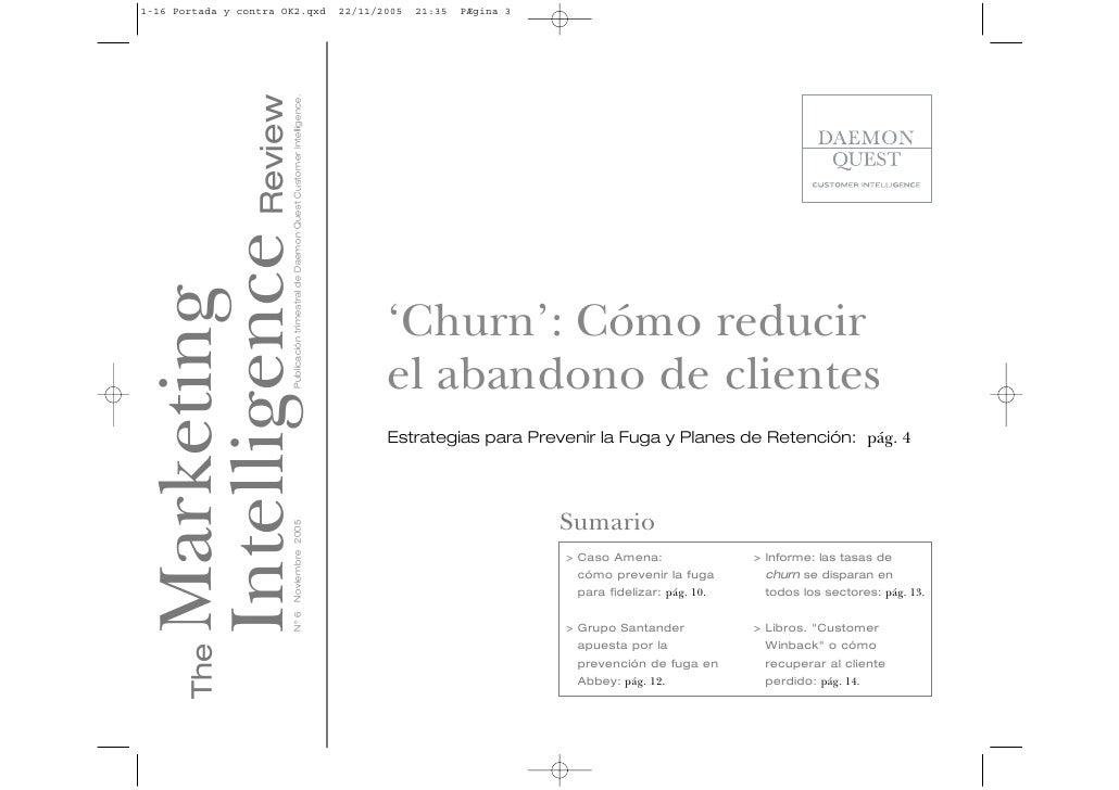 'Churn': Cómo reducir el abandono de clientes