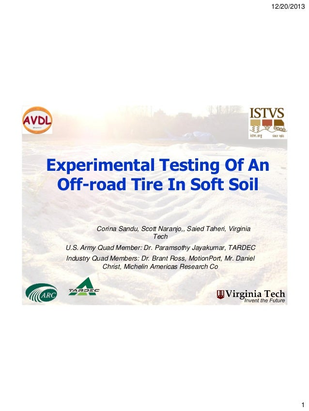 tire testing essay A standard testing tyre has a rating of 100 this means that if a tire has a tread  rating of 300, the manufacturer expects the tire to have a lifespan.
