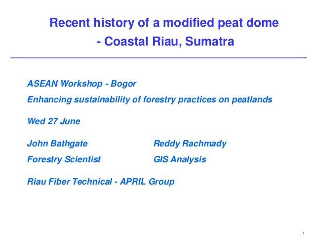 Peatland Development Challenges – A Case Study from Kampar Peninsula, Riau, Indonesia