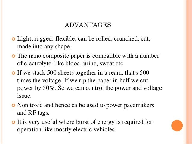 batteries research paper In conjunction with the research work, li-metal batteries may need  is if this  shouldn't be added to the experimental or future battery articles.