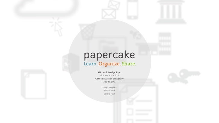 Papercake expo presentation
