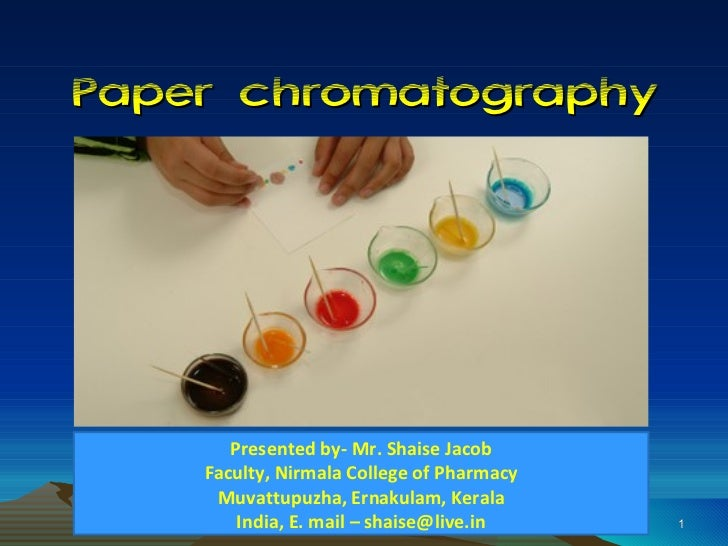 Paper Chromatography PPT (new)