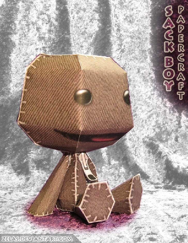 Papercraft Sackboy