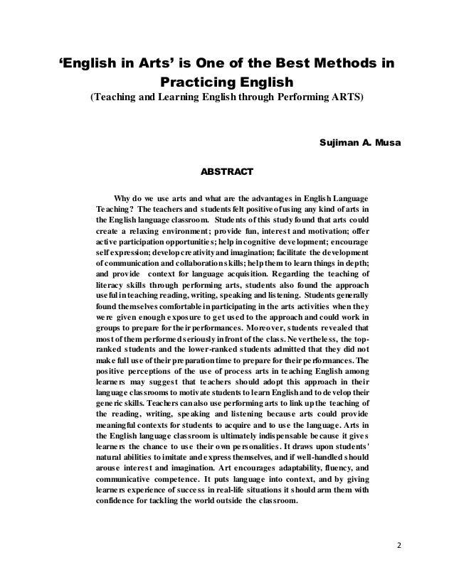 Colloquial English Paper?