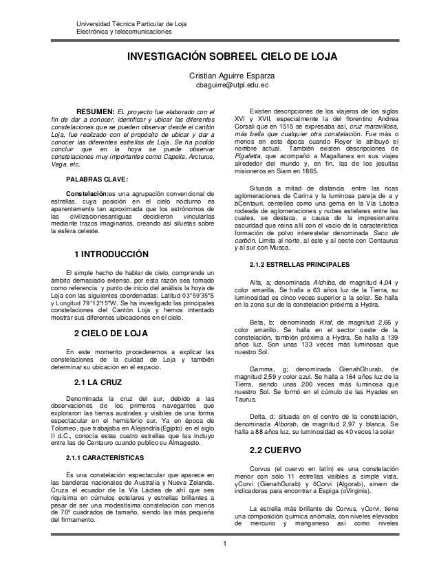 Universidad Técnica Particular de Loja        Electrónica y telecomunicaciones.                          INVESTIGACIÓN SOB...