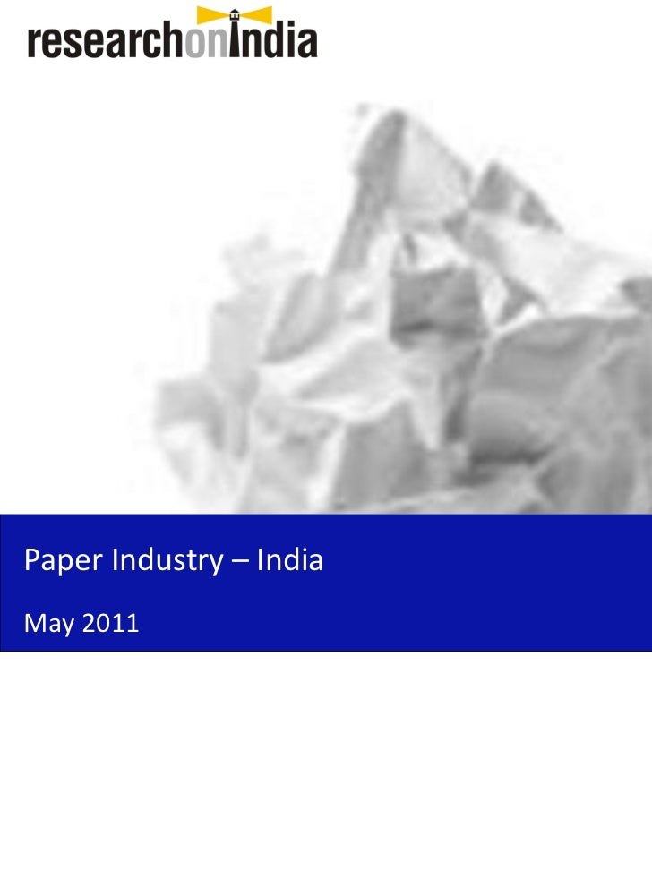 research paper on indian retail industry