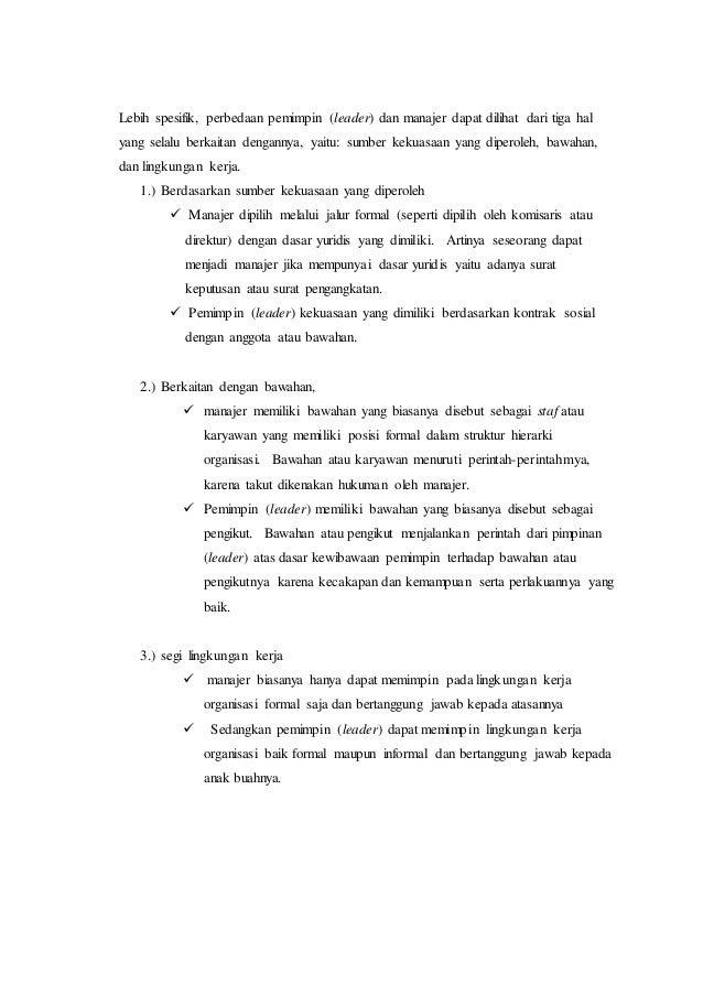 essay on leadership management