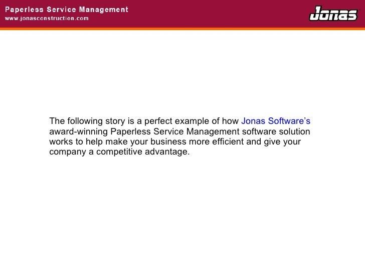 Paperless Service Management