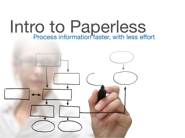 Intro to PaperlessProcess information faster, with less effort