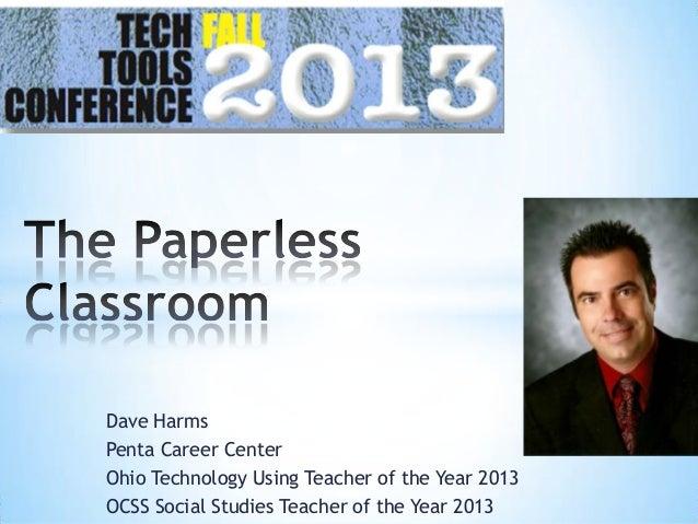 Dave Harms Penta Career Center Ohio Technology Using Teacher of the Year 2013 OCSS Social Studies Teacher of the Year 2013