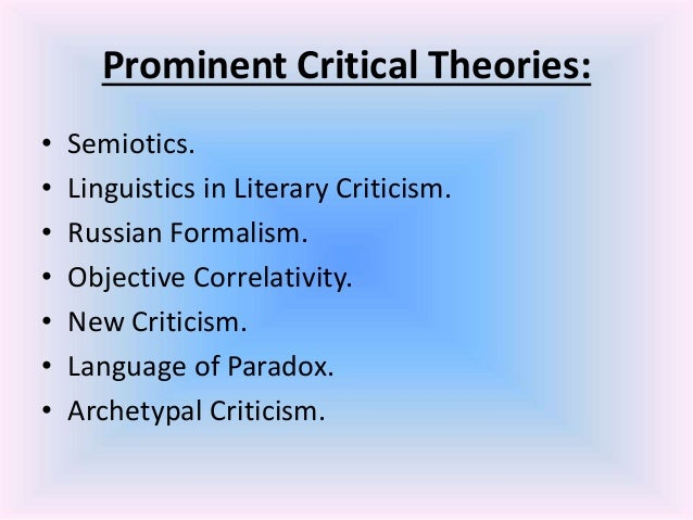 post modern perspective on criticism essay A fundamental postmodernist critique of the neorealists and neoliberals is that   the problem with positivism is that they give a limited view of.