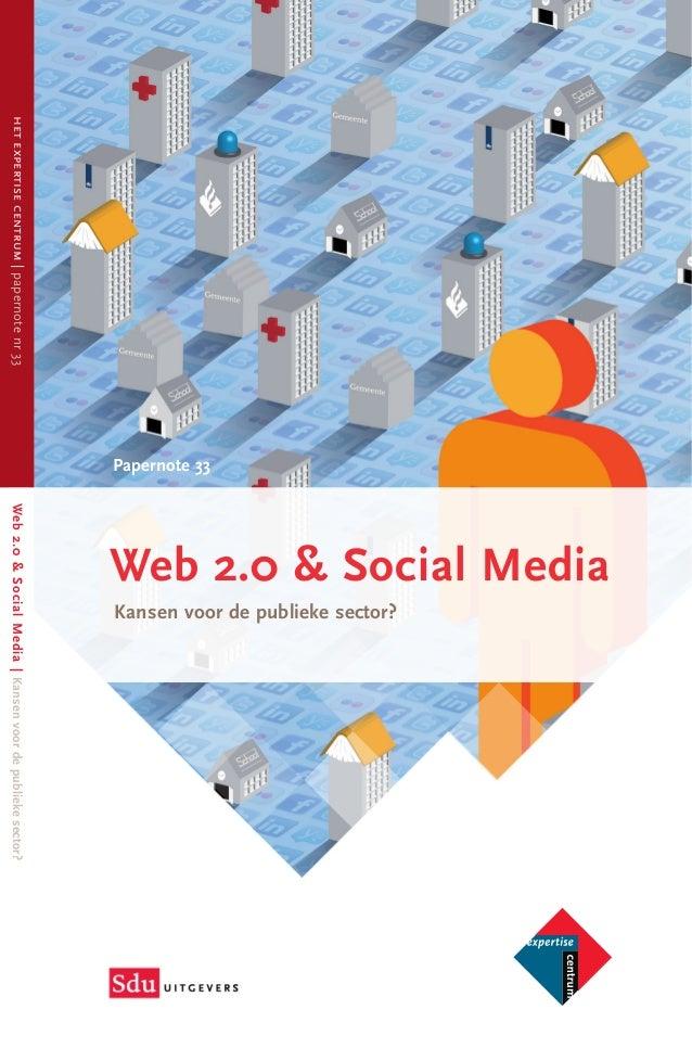 Web 2.0 & Social Media Kansen voor de publieke sector?