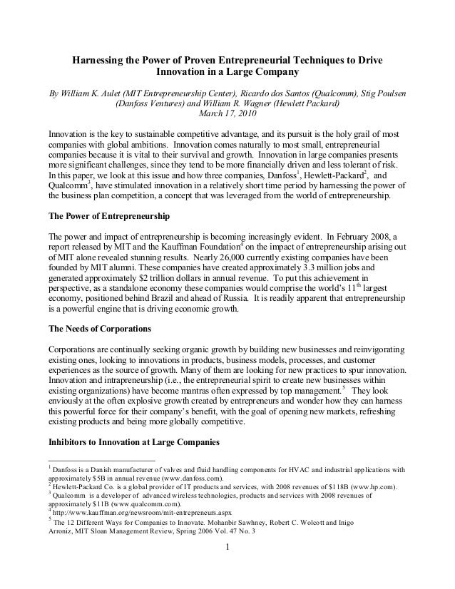 Paper on driving_innovation_in_large_corporations