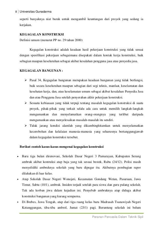 thesis teknik sipil Daftar kumpulan judul contoh tesis teknik sipil teknik sipil merupakan salah satu cabang ilmu teknik yang mempelajari cara-cara merancang, membangung serta.