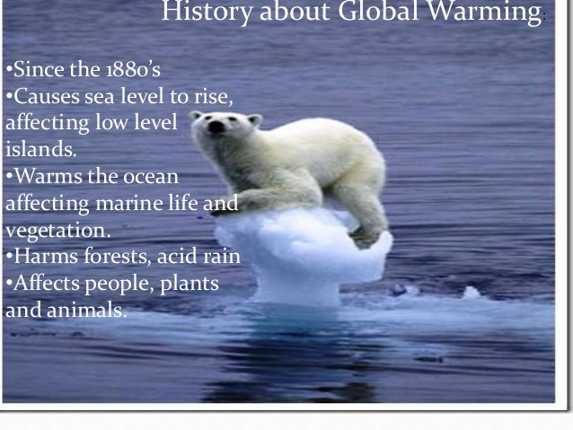 term paper on global warming 4 hansen's testimony was very widely reported in popular and business media, and after that popular use of the term global.