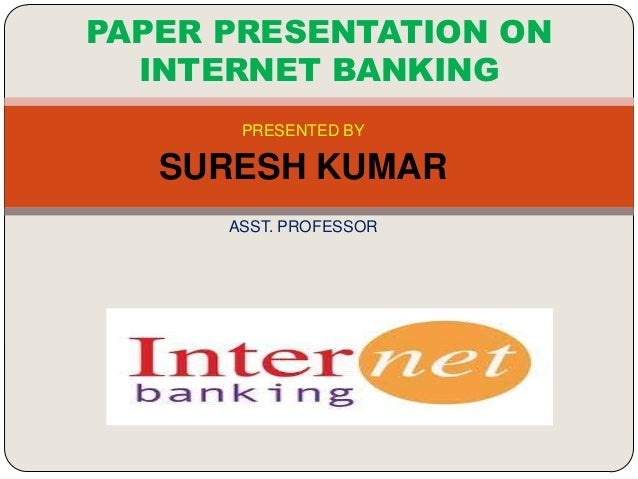 term paper on banking