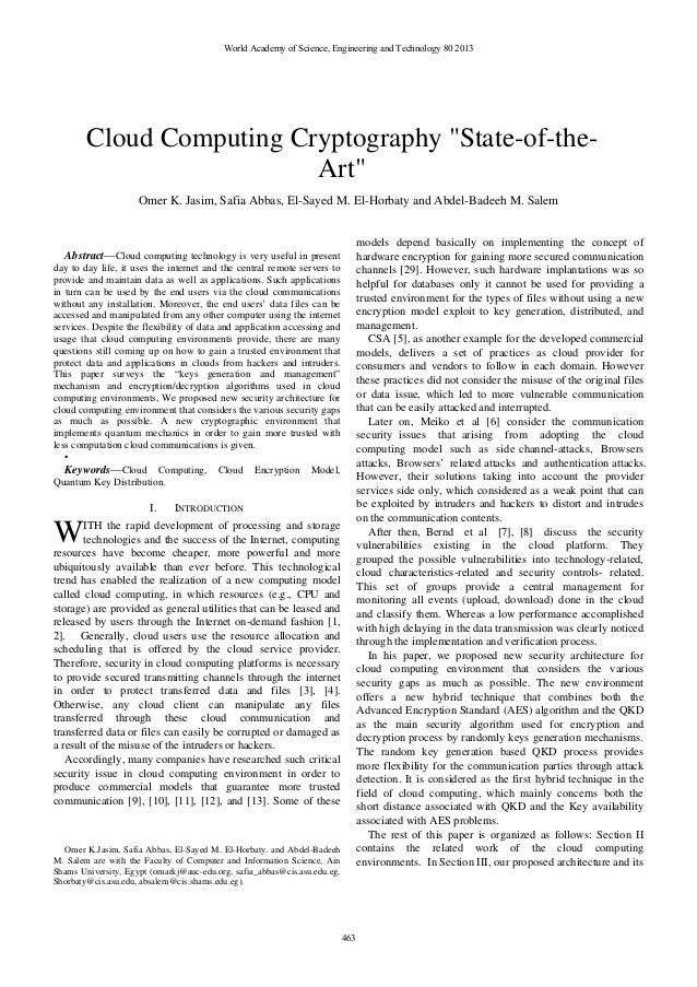 Paper published
