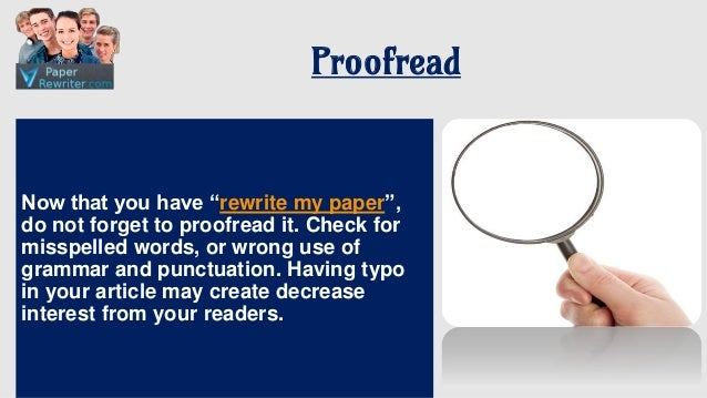 Reword my essay