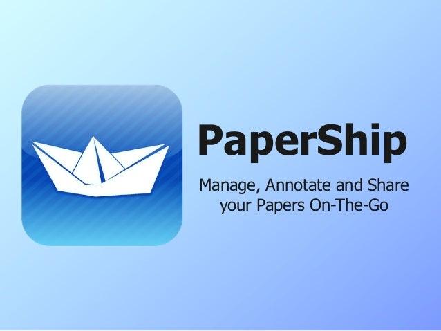 Papership