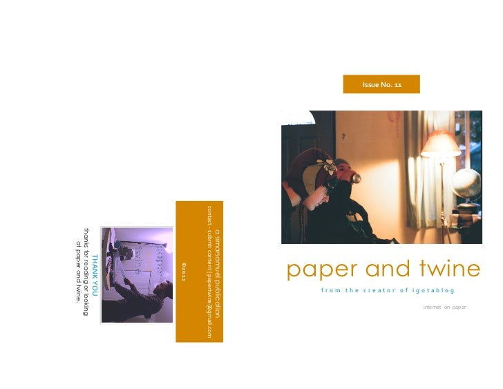 paper and twine                                                                                        internet on paper  ...
