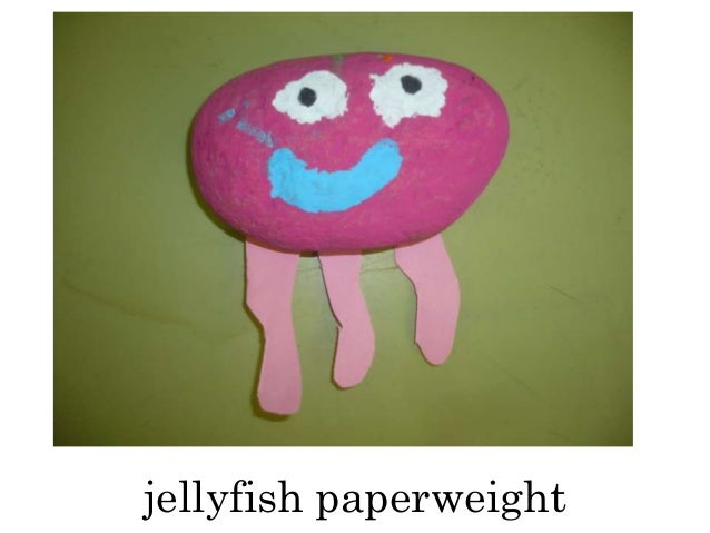 jellyfish paperweight