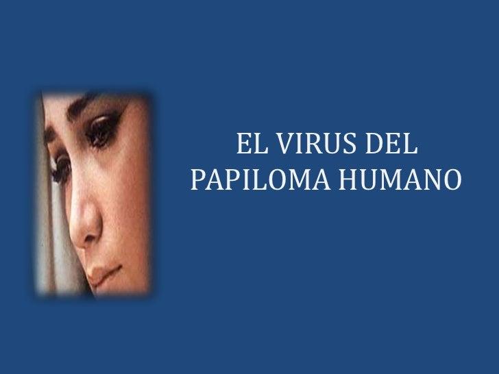 EL VIRUS DEL               PAPILOMA HUMANO<br />