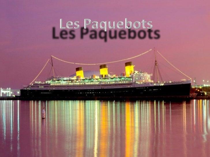 Paquebotss