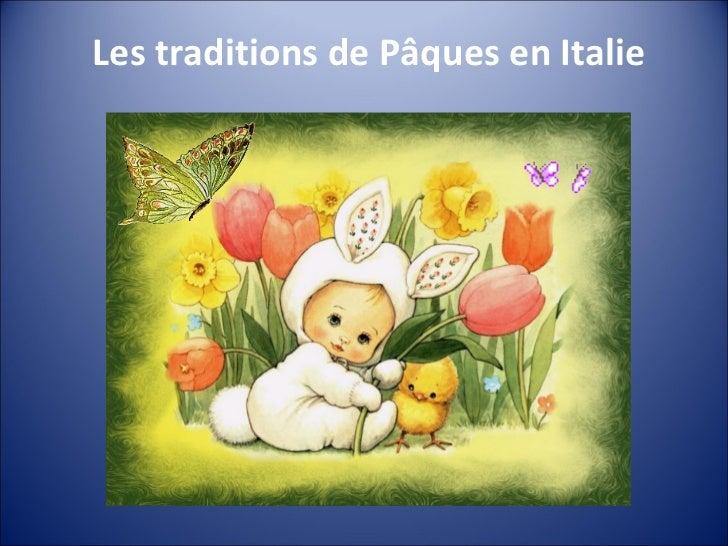 Les traditions de Pâques en Italie