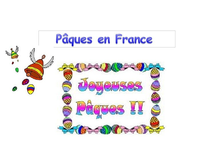 À Pâques en France, onmange des œufs en chocolat