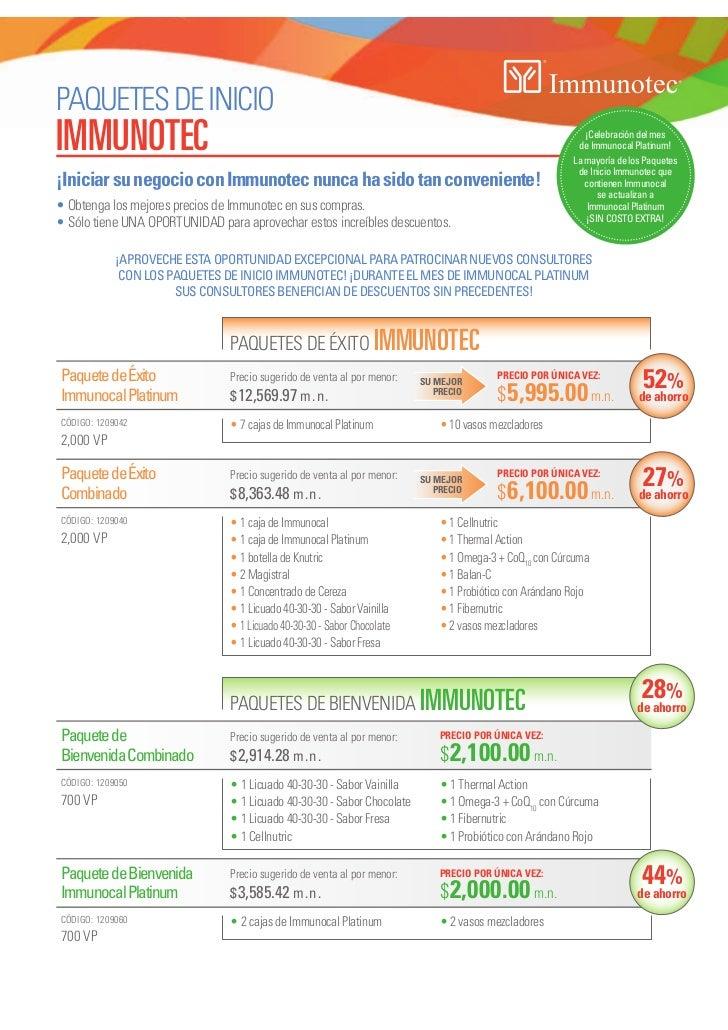 Paquete immunotec oct 2012