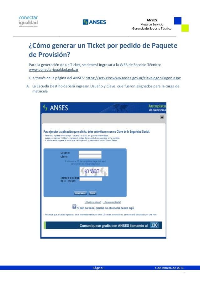 Paquetes de provision   mesa de servicio - v20130205