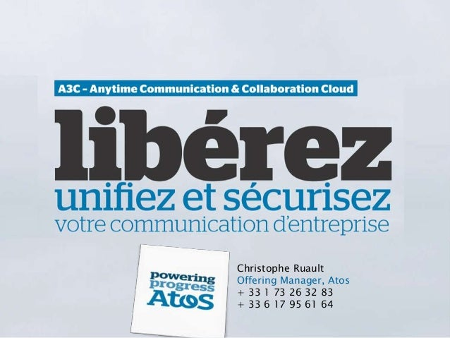 Anytime communication et collaboration cloud