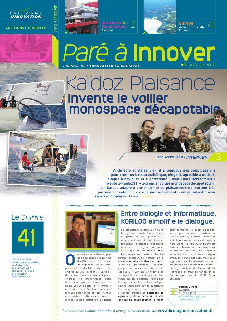 Paré à innover 31
