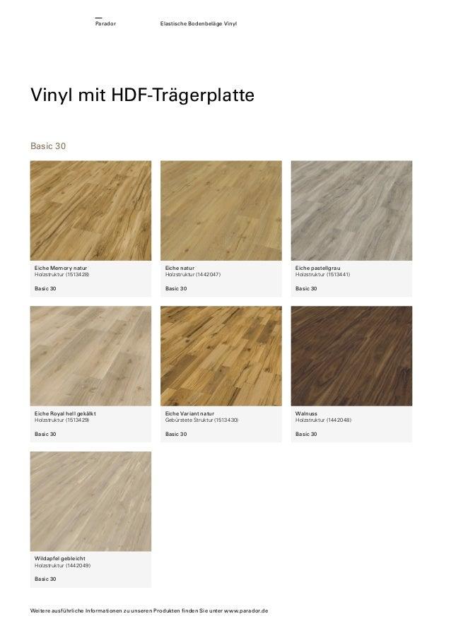 parador elastische bodenbel ge vinylboden und vinyllaminat. Black Bedroom Furniture Sets. Home Design Ideas