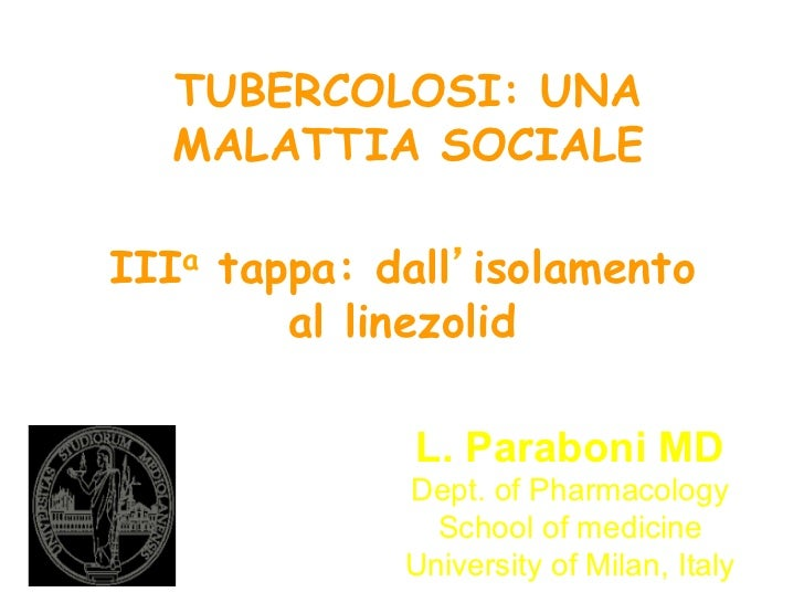 """PPT Parabone """"III stage: from isolation to linezolid"""""""