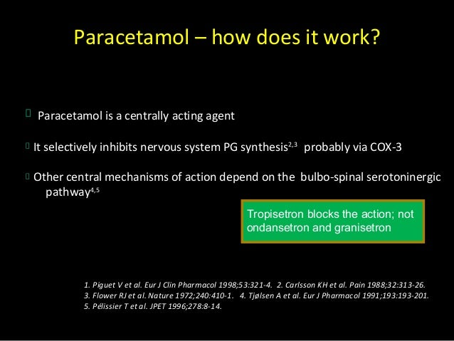 Pain Mechanism of Action Mechanisms of Action