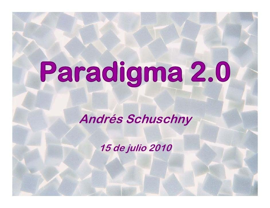 Andrés Schuschny    15 de julio 2010