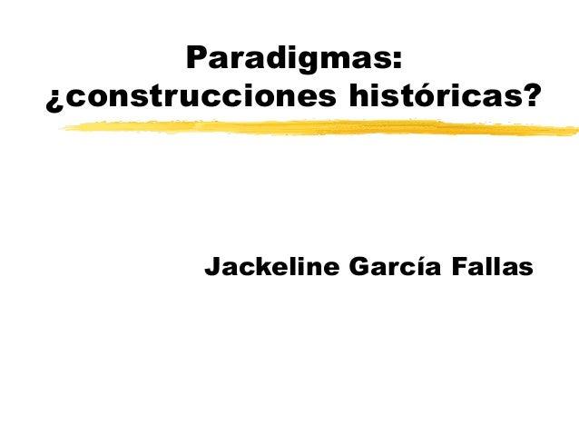 Paradigma en ciencias sociales