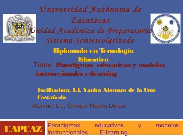 Universidad Autónoma de             Zacatecas   Unidad Académica de Preparatoria       Sistema Semiescolarizado          D...